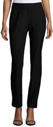 Eileen Fisher Washable Crepe Slim-Leg Pants, Petite