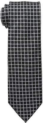 Geoffrey Beene Men's Ruble Tile Grid Tie