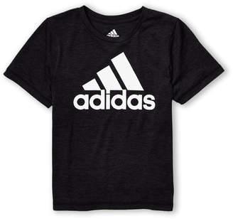 adidas Boys 4-7) Badge Short Sleeve Tee