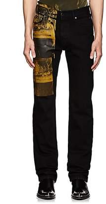 "Calvin Klein Men's ""Crash""-Print Straight Jeans"