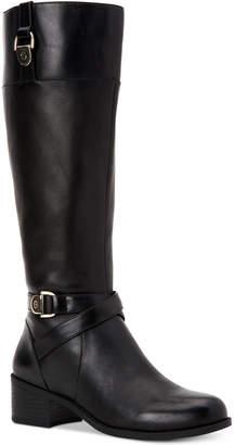 Giani Bernini Revaa Memory Foam Wide-Calf Riding Boots Women's Shoes