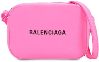 Balenciaga Xs Everyday Logo Print Camera Bag
