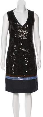 Marni Embellished Sleeveless Dress