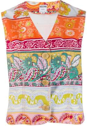 0cbc8efc441 Moschino PRE-OWNED 1990's floral print vest