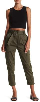 Know One Cares Belted Cargo Pant $46 thestylecure.com