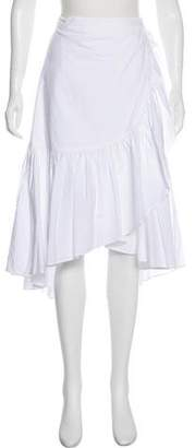 Ulla Johnson Camila Midi Wrap Skirt