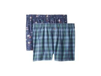 Tommy Bahama 2-Pack Flannel Boxer Set