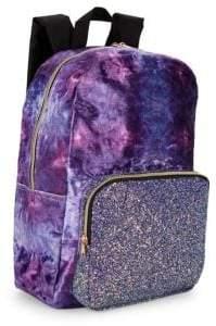 Fashion Angels Marble Velvet Backpack