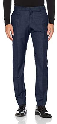 Selected Men's Shdone-mylobiga4 Dk Blue Noos Suit Trousers,(Manufacturer Size: 90)