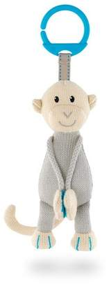 Matchstick Monkey Knitted Hanging Monkey Toy, BLUE