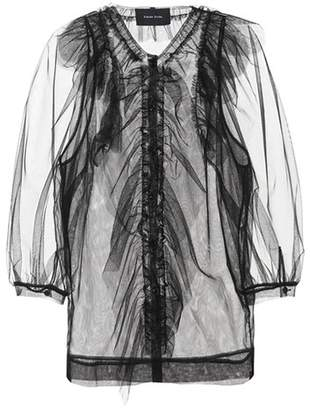 Simone Rocha Sheer tulle blouse