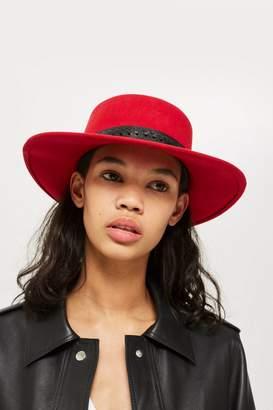 Topshop Petra Round Felt Hat