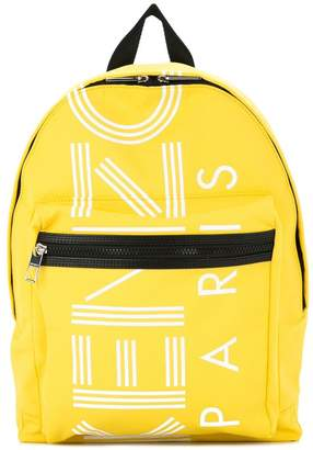 Kenzo logo zipped backpack