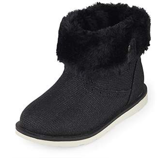 Children's Place The Girls' Fur Lined Fashion Boot
