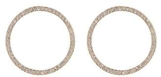 Vince Camuto Crystal Accent Circle Stud Earrings
