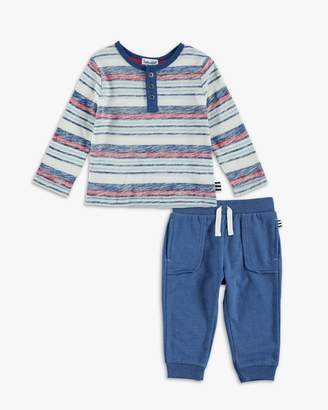 Splendid Baby Boy Reverse Printed Long Sleeve Shirt