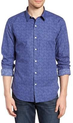 Bonobos Premium Slim Fit Print Sport Shirt
