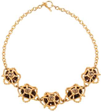 Christian Lacroix Vintage Gold Metal Necklace