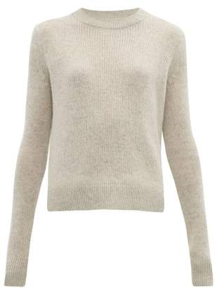The Row Muriel Cashmere Sweater - Womens - Light Grey