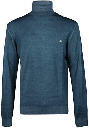 Etro Turtle Neck Knitted Sweater