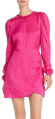 Aqua Puff-Sleeve Polka Dot Dress - 100% Exclusive