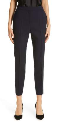BOSS Tusanna Stretch Wool Ankle Suit Pants