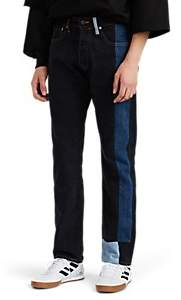 Gosha Rubchinskiy Men's Patchwork Levi's® 501® Jeans - Black