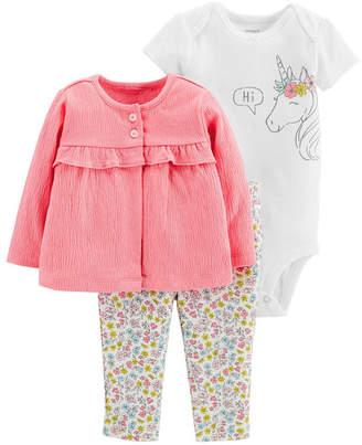 Carter's Little Baby Basics 3-pc. Layette Set - Girls