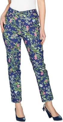 79bed9703c3 C. Wonder Regular Botanical Floral Print Ankle Jeans