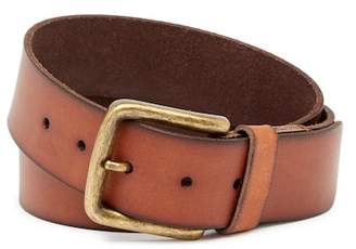 Frye Pebble Panel Burnished Leather Belt