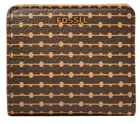 Fossil Madison Bifold Wallet Multi Brown