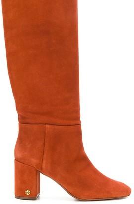Tory Burch chunky heeled boots