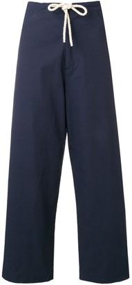 Sara Lanzi drawstring waist trousers