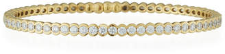 Neiman Marcus Diamonds 18k Yellow Gold Channel-Set Diamond Bangle