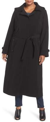 Gallery Long Nepage Raincoat with Detachable Hood & Liner