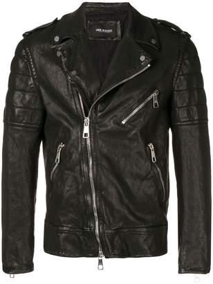 Neil Barrett creased biker jacket