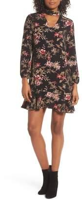 Fraiche by J Choker Trapeze Dress
