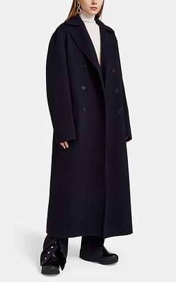 Jil Sander Women's Cashmere Oversized Double-Breasted Coat - Navy
