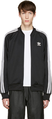 adidas Originals Black SST Relax Track Jacket $70 thestylecure.com