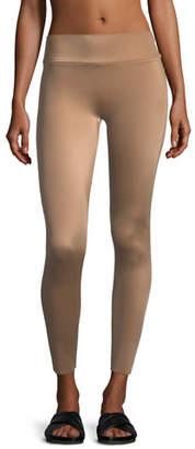 Norma Kamali Low-Rise Ankle Leggings