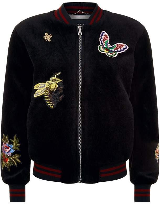 Butterfly Fleece Jacket