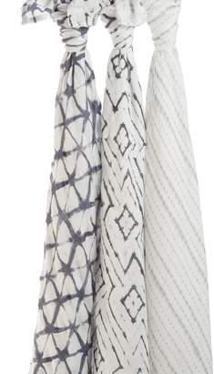 Aden Anais aden + anais 3-Pack Silky Soft Swaddling Cloths