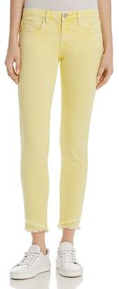Blank NYC BLANKNYC Frayed Ankle Skinny Jeans in Yellow - 100% Exclusive