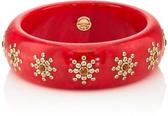 Mark Davis Women's Bakelite & Mixed-Gemstone Bangle - Red