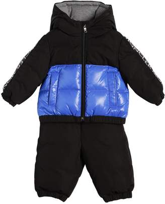 Moncler Germont Hooded Nylon Down Jacket & Pants