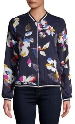 Vero Moda Floral Printed Bomber Jacket