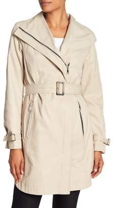 T Tahari Evelyn Side Zip Coat
