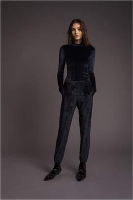 Sonia Rykiel Jacquard Velvet Sweatpants