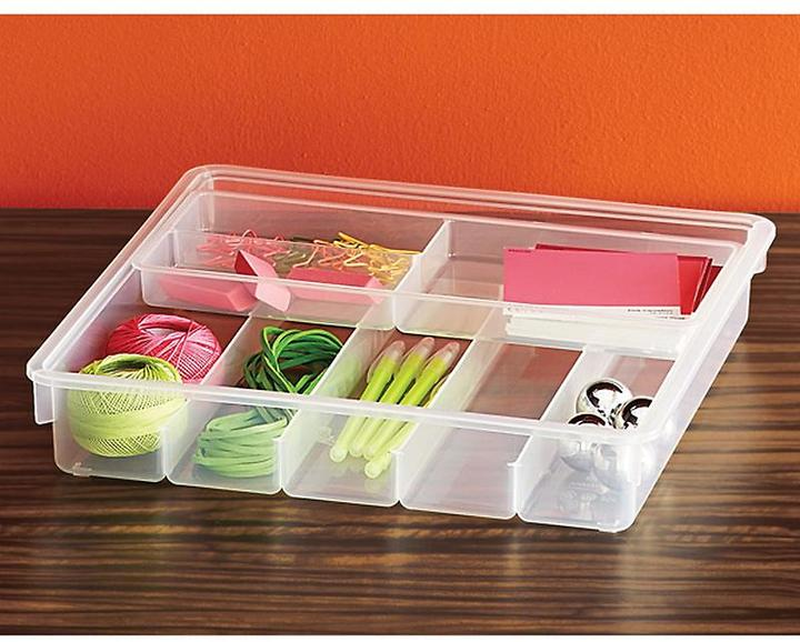 Container Store Small Sliding Drawer Organizer Translucent