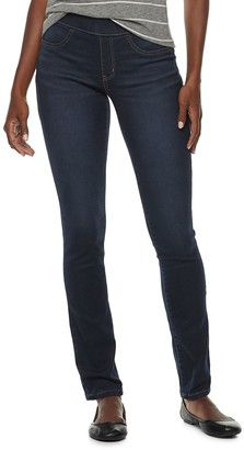 Sonoma Goods For Life Women's SONOMA Goods for Life Midrise Pull-On Skinny Jeans